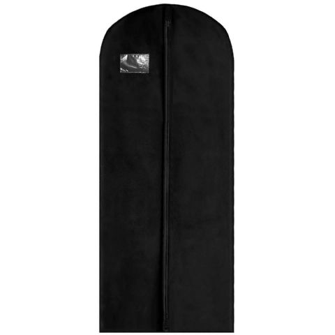 Black Thick Long Coat Gown & Dress Cover / Carrier